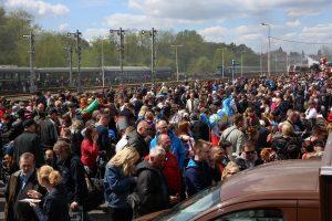 Prehliadka rušňov vo Wolsztyne 2014, účasť viac ako 20.000 ľudí