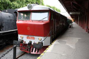 Cecaňa T478.1201 v Múzeu dopravy