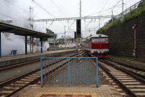 Cecaňa a Albatros na hlavnej stanici v Bratislave