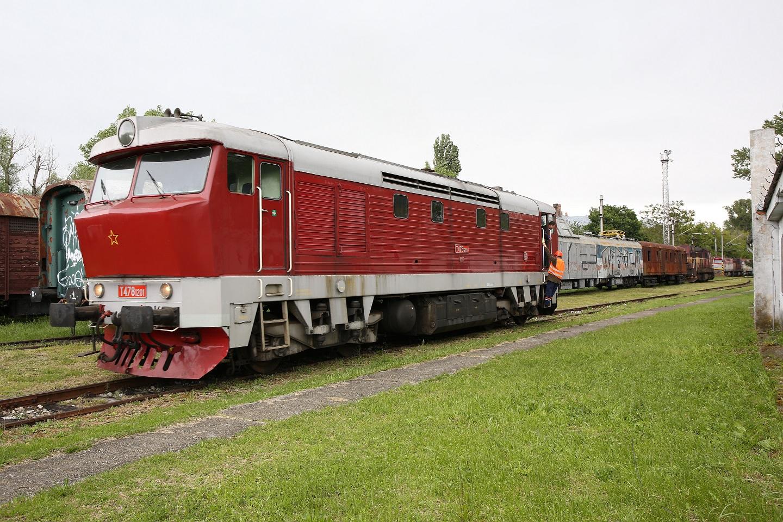Cecaňa T478.1201 v Múzeu dopravy v Bratislave