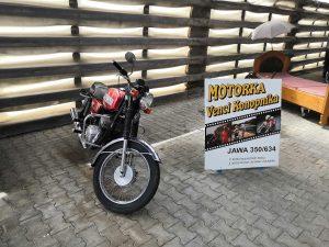 JZD Hoštice, motorka Vencu Konopníka