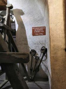 Prehliadka Čiernej veže v Českých Budějoviciach