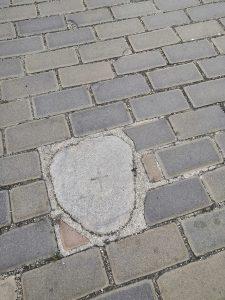 Bludný kameň v Českých Budějoviciach