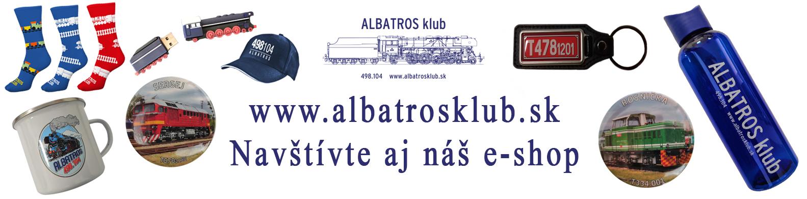 banner ALBATROS klub eshop