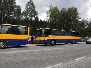 Podporná doprava tam, kam nešiel vlak ALBATROS klubu