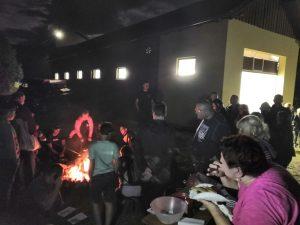 Večerná opekačka ALBATROS klubu vo Vimperku