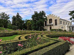 Záhrady v okolí hradu Hluboká ALBATROS klub